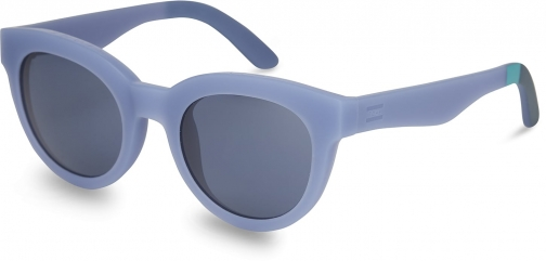 Toms Traveler By TOMS Florentin Matte Infinity Blue Solid Indigo Lens With Indigo Blue Lens Sunglasses