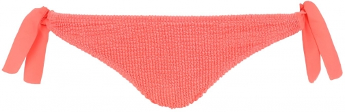 Calzedonia - Alice Crinkle Side Cheeky Bottoms, XS, Orange, Women Tie