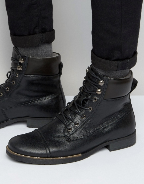 Bellfield Hyder Leather Laceup Boot