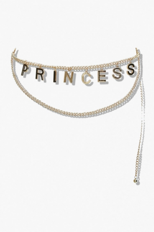 Forever21 Layered Princess Belly Chain At Forever 21 , Gold Body Chain