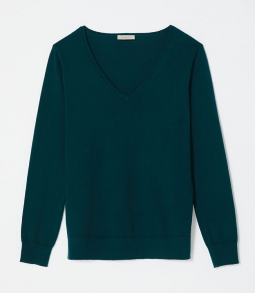 Loft V-Neck Sweater Sweatshirt