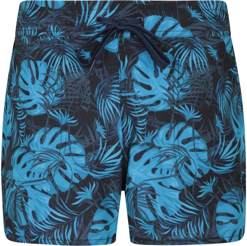 Mountain Warehouse Patterned Womens Stretch Boardshorts - - Blue Short