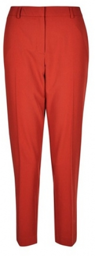Dorothy Perkins Rust Ankle Grazer Trousers Trouser