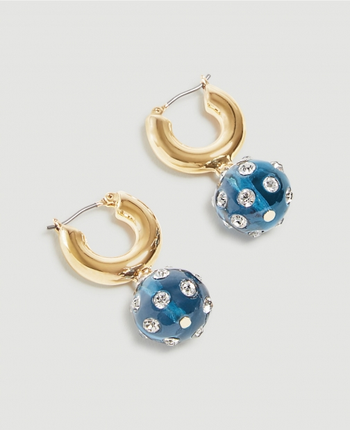 Ann Taylor Jeweled Ball Drop Earring