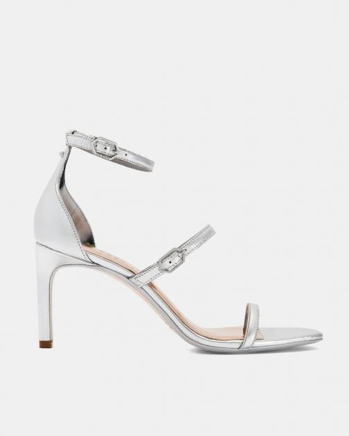Ted Baker Metallic Triple Strap Sandals