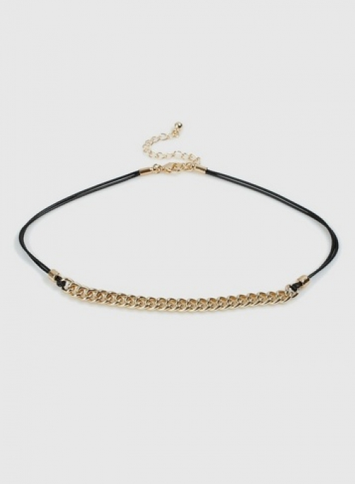 Dorothy Perkins Gold Chain Necklace Chokers