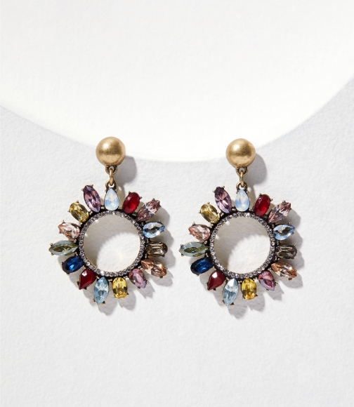 Loft Multicolored Drop Earring