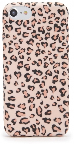 Forever21 Forever 21 Leopard Print Phone For IPhone 6/7/8 , Pink/multi Case