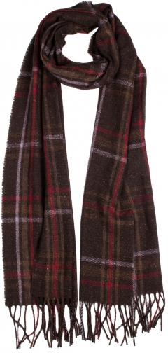 Dents Women`s Woven Checked Scarf