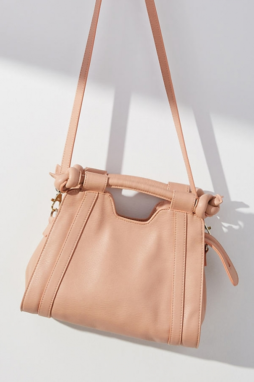 Anthropologie Terrance Small Knotted Crossbody Bag