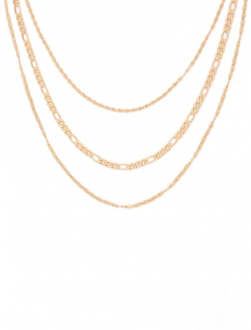 Forever21 Forever 21 Chain Necklace Set , Gold Jewellery