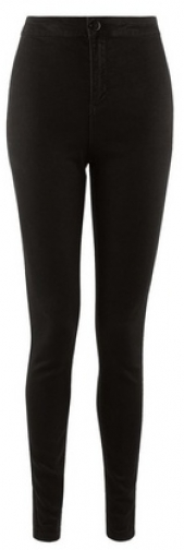 Dorothy Perkins Black 'Lyla' Ultra High Waisted Jeans