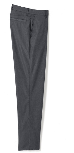 Lands' End Men's Traditional Fit Performance Pants - Lands' End - Gray - 30 Chino