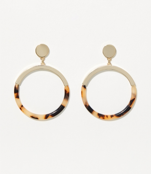 Loft Resin Drop Earring