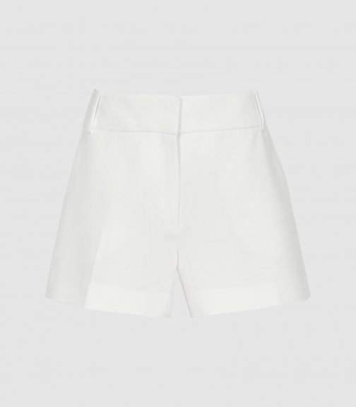 Reiss Lyla - Tailored White, Womens, Size 4R Short