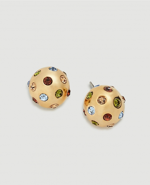 Ann Taylor Jeweled Ball Stud Earring