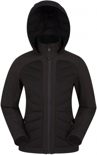 Mountain Warehouse Aviemore Womens Baffle - Black Jacket