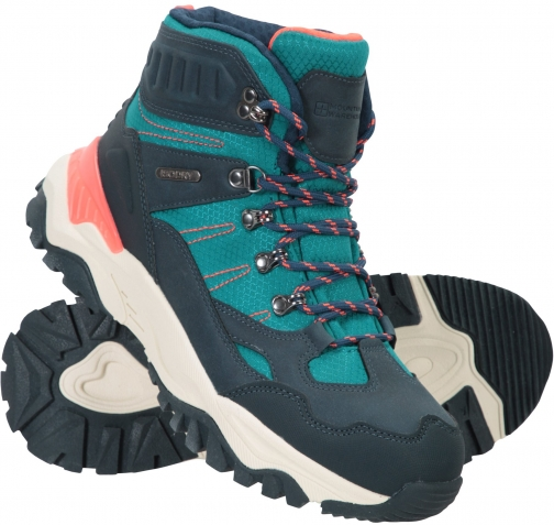 Mountain Warehouse Hike Womens Waterproof Recycled - Teal Boot
