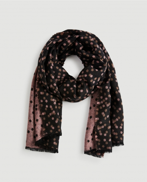 Ann Taylor Factory Shadow Dot Scarf