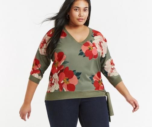 Oasis Curve Rosemary Jumper