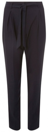 Dorothy Perkins Womens **Tall Navy - Blue, Blue Tapered Trouser