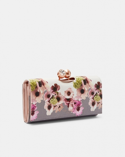 Ted Baker Neapolitan Leather Bobble Matinee Purse