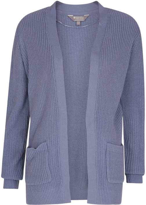 Mountain Warehouse Serene Womens Knitted - Blue Cardigan