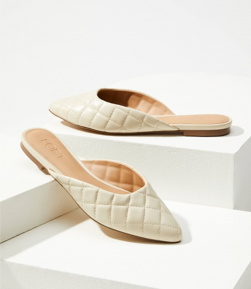 Loft Quilted Mules Shoes