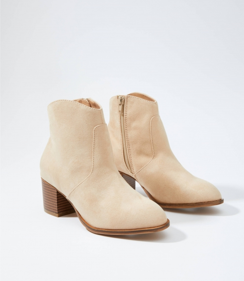 Loft Stacked Heel Ankle Boot