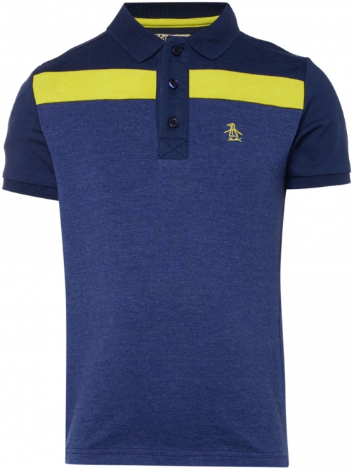 Original Penguin Boys Yoke Stripe Polo
