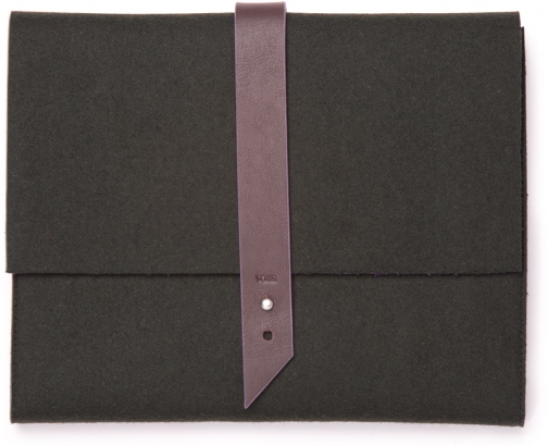 Toms Brown Heavy Felt Tour Tablet Case