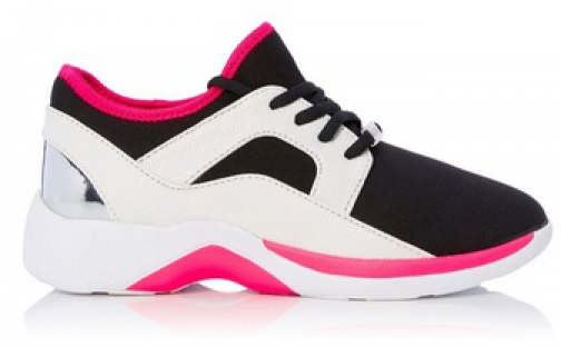 Head Over Heels By Dune Fuchsia 'Enzo 2' Ladies Trainer