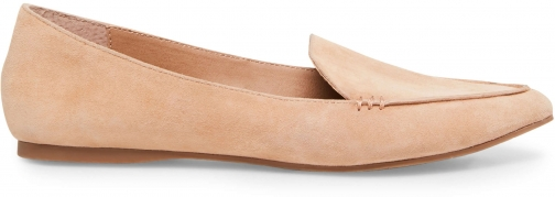 Steve Madden FEATHER CAMEL SUEDE Flats