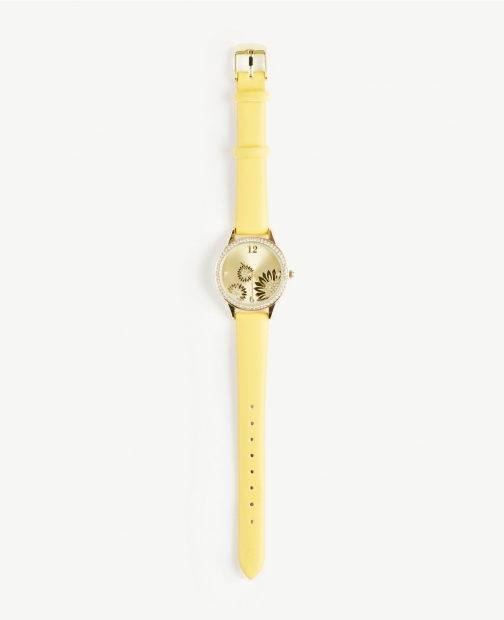 Ann Taylor Factory Floral Watch