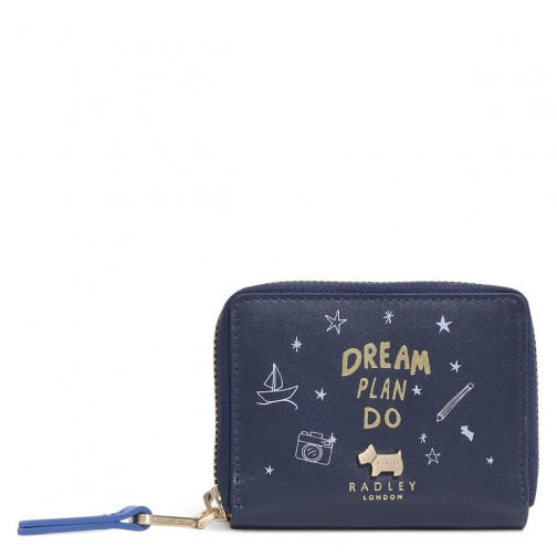 Radley Dream Plan Do Small Zip Around Purse
