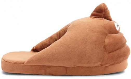Forever21 Forever 21 Poo Indoor Brown Slippers