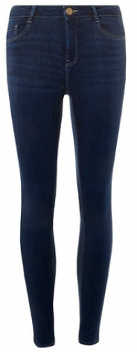 Dorothy Perkins Indigo 'Premium Shape And Lift' Skinny Denim Jeans