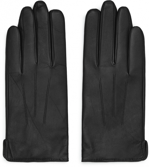 Reiss Christa - Leather Black, Womens, Size S Glove