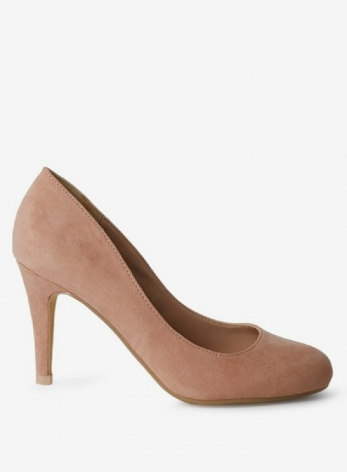 Dorothy Perkins Womens Nude 'Dallas' Court - White, White Shoes