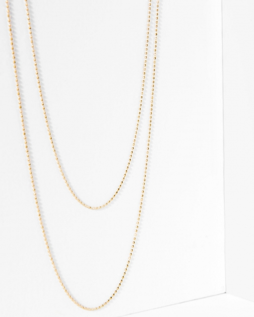7 For All Mankind Five And Two Camille Gold Necklace