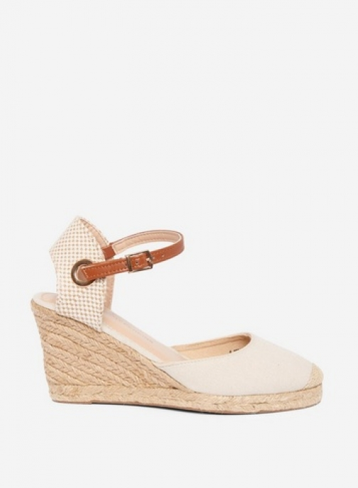 Dorothy Perkins Cream 'Raya' Wedges Espadrille