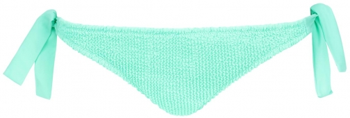 Calzedonia - Alice Crinkle Side Cheeky Bottoms, XS, Green, Women Tie
