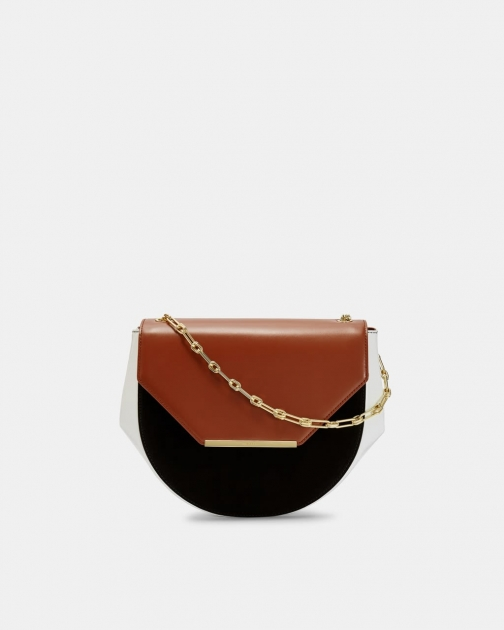 Ted Baker Moon Leather Shoulder Bag