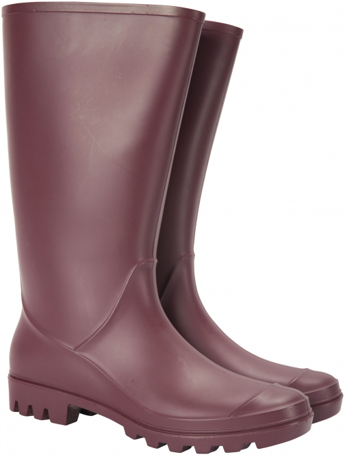 Mountain Warehouse Splash Womens - Burgundy Welly