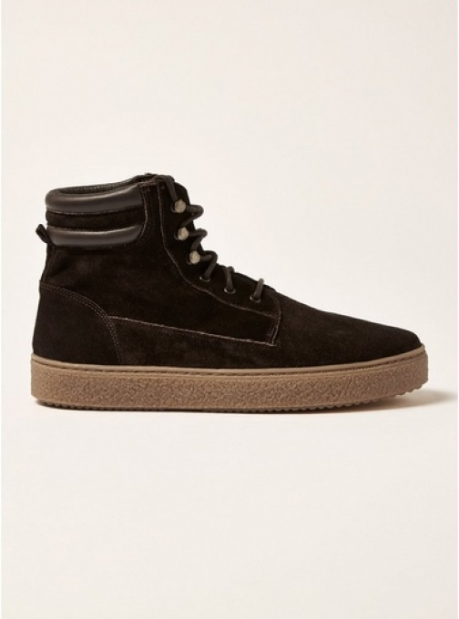 Topman Mens Brown Suede Hilton , Brown Boot