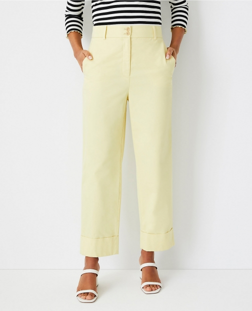 Ann Taylor The Tall Easy Pant Chino