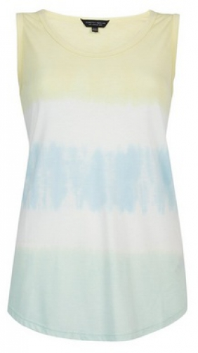Dorothy Perkins Multi Colour Tie Dye Vest Top