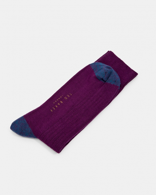 Ted Baker Ribbed Cotton Sock