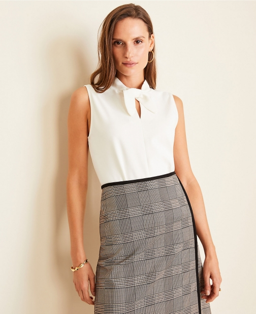Ann Taylor Neck Shell Tie