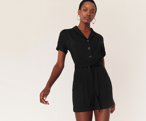 Oasis Button Front Playsuit